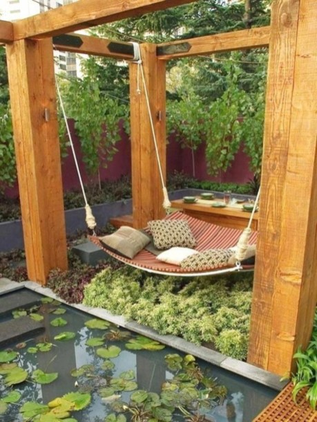 Backyard design for small areas that remain comfortable to relax 39