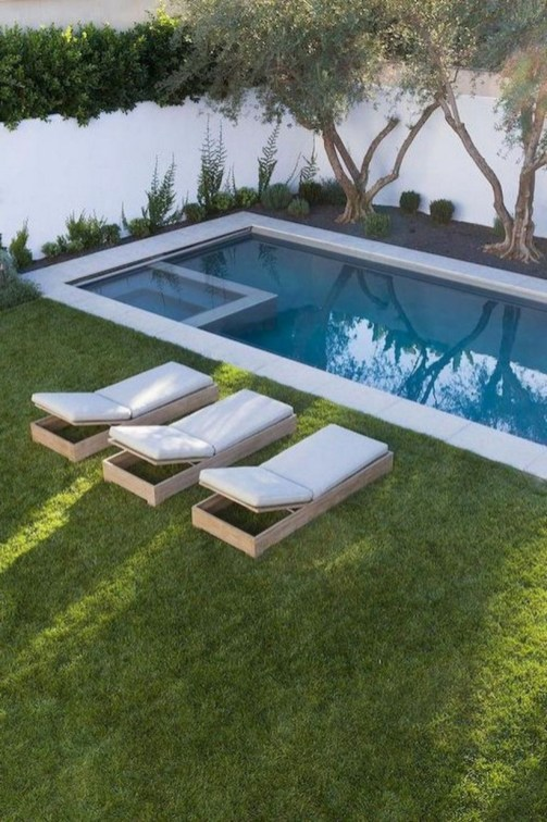 Backyard design for small areas that remain comfortable to relax 40