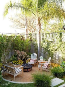 Backyard design for small areas that remain comfortable to relax 43