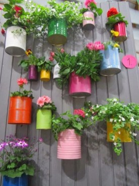 Diy garden design project in your home 06