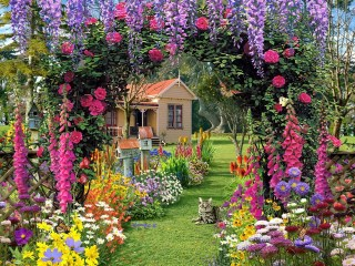 Garden design that is refreshing and comfortable 03