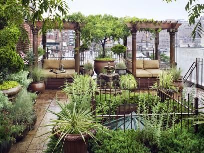 Garden design that is refreshing and comfortable 07