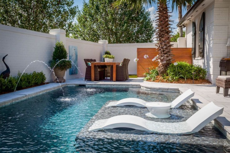 Garden design that is refreshing and comfortable 16