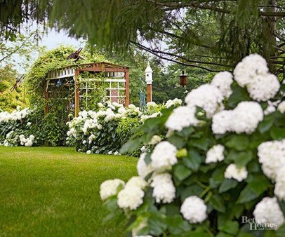 Garden design that is refreshing and comfortable 43