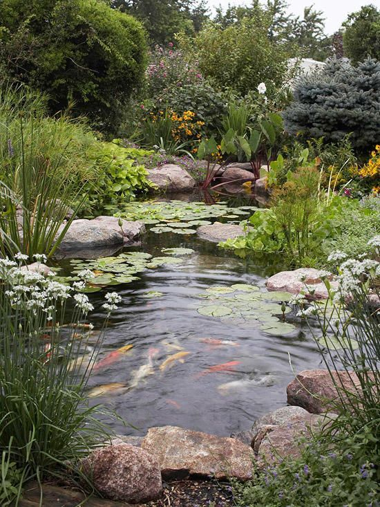 Garden design that is refreshing and comfortable 46