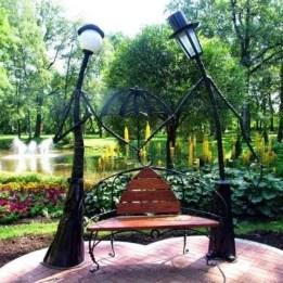 Garden lamp design ideas that make your home garden looked beauty 04