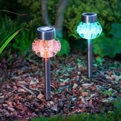 Garden lamp design ideas that make your home garden looked beauty 08