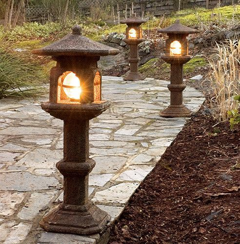 Garden lamp design ideas that make your home garden looked beauty 09