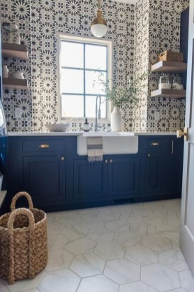 Kitchen floor design with the best motives 07