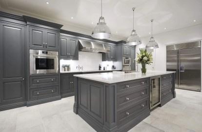 Kitchen floor design with the best motives 11