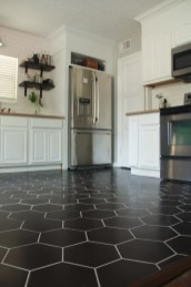 Kitchen floor design with the best motives 14