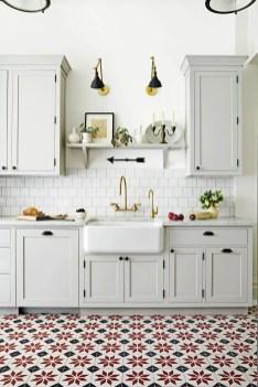 Kitchen floor design with the best motives 15
