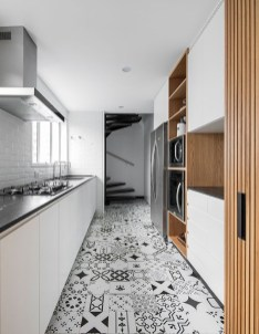 Kitchen floor design with the best motives 19