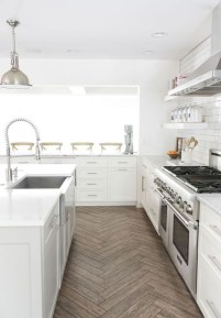 Kitchen floor design with the best motives 39
