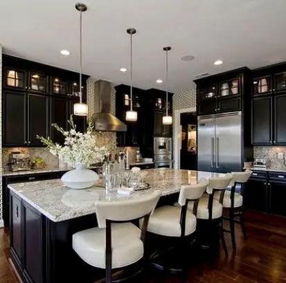 Kitchen floor design with the best motives 43