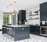 Kitchen floor design with the best motives 44