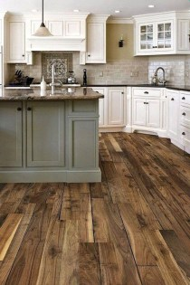 Rustic kitchen cabinet design ideas are very popular this year 01