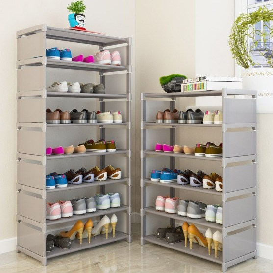 Shoes rack design ideas that many people like 02