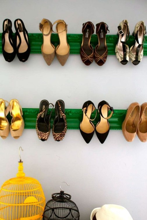 Shoes rack design ideas that many people like 14