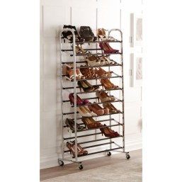 Shoes rack design ideas that many people like 19