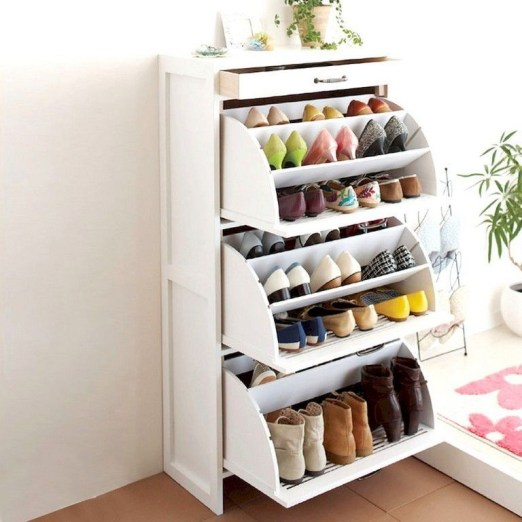 Shoes rack design ideas that many people like 23