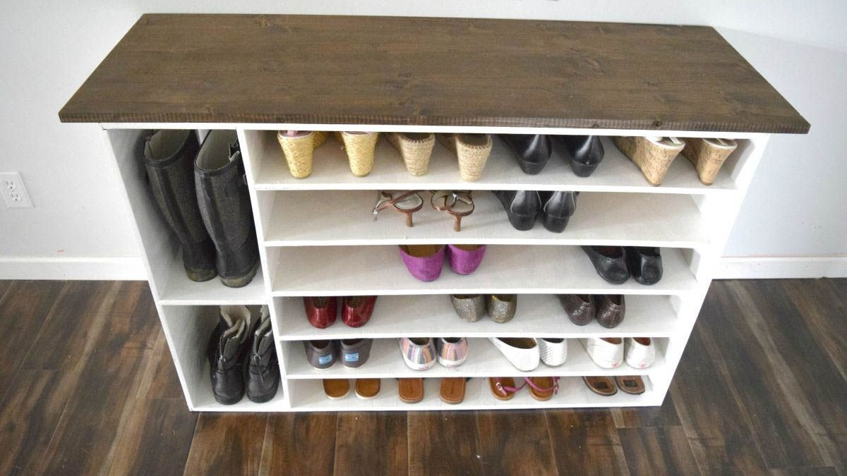 56 Shoes Rack Design Ideas That Many People Like