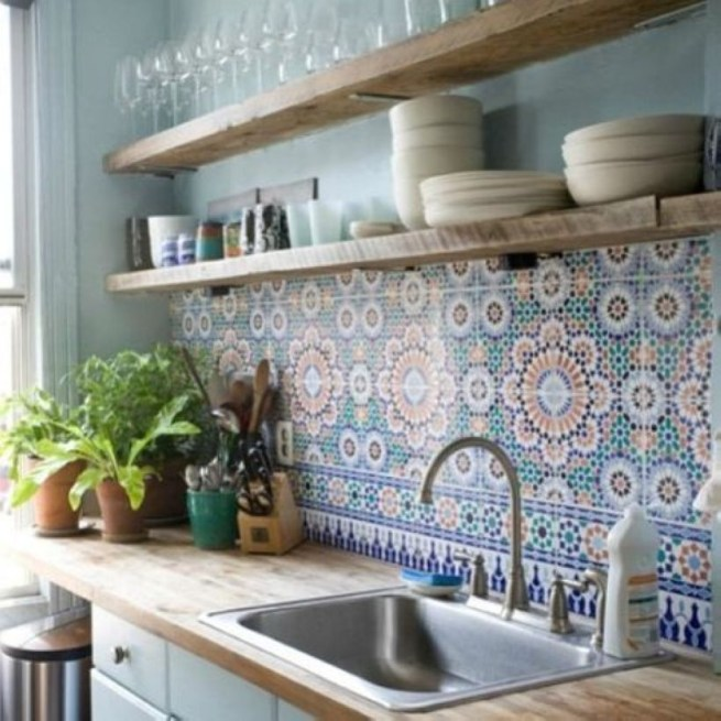 Simple kitchen design ideas that you can try in your home 18