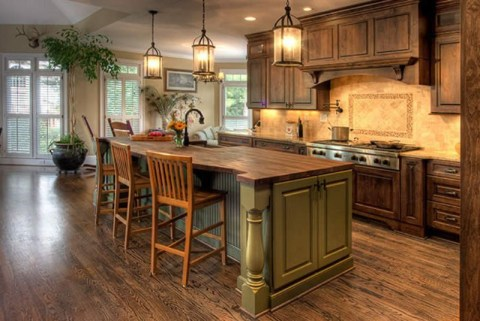 Simple kitchen design ideas that you can try in your home 35