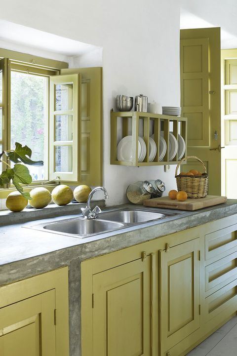 Simple kitchen design ideas that you can try in your home 45