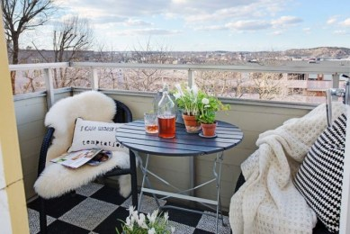 The best balcony apartment design highly recommended 37