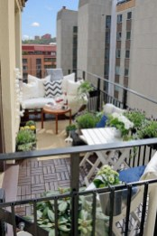 The best balcony apartment design highly recommended 40