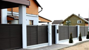 The best fence wooden design that you can try in your home 06
