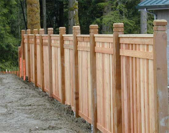 The best fence wooden design that you can try in your home 41