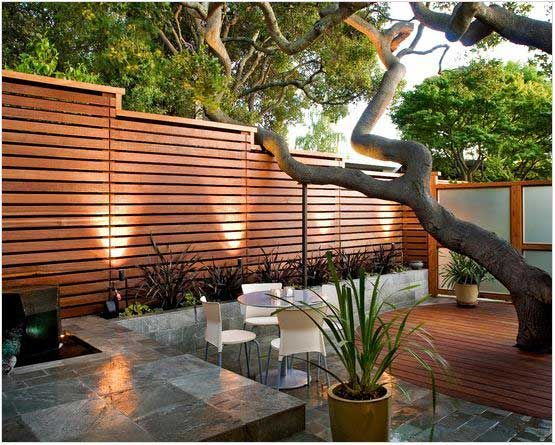 The best fence wooden design that you can try in your home 43