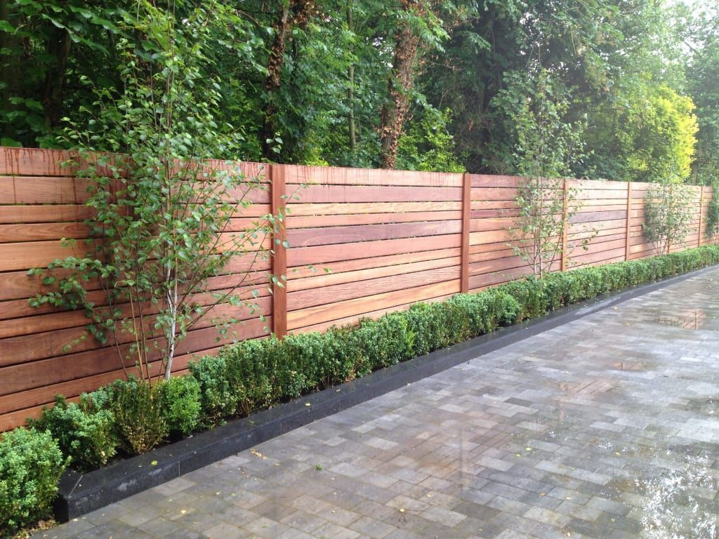 The best fence wooden design that you can try in your home 53