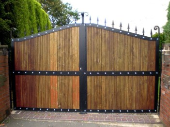 The best gate design ideas that you can copy right now in your home 06