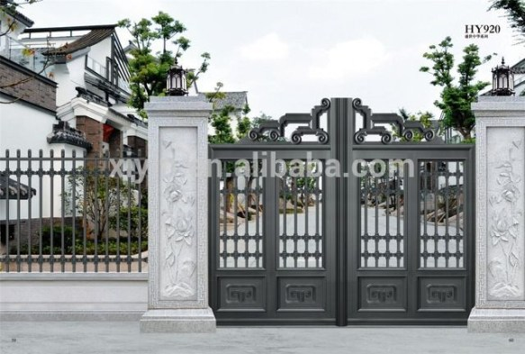 The best gate design ideas that you can copy right now in your home 15