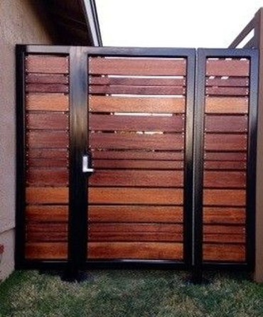 The best gate design ideas that you can copy right now in your home 28