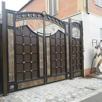 The best gate design ideas that you can copy right now in your home 41