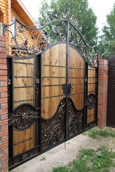 The best gate design ideas that you can copy right now in your home 50