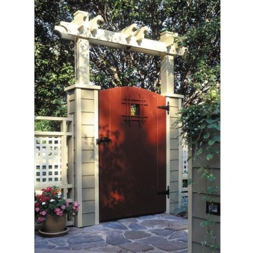 The best gate design ideas that you can copy right now in your home 53