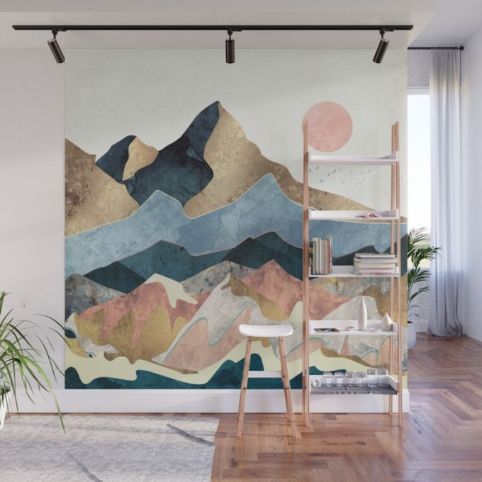 Amazing artistic wall design ideas for simple your home 05