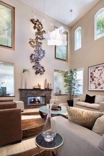 Amazing artistic wall design ideas for simple your home 08