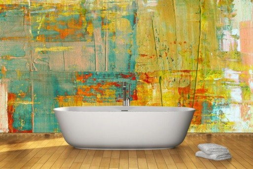 Amazing artistic wall design ideas for simple your home 21