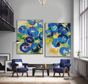 Amazing artistic wall design ideas for simple your home 25