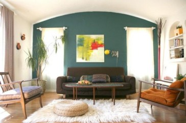 Amazing artistic wall design ideas for simple your home 43