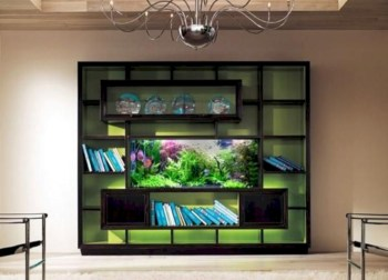 Aquarium design ideas that make your home look beauty 32