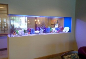 Aquarium design ideas that make your home look beauty 35