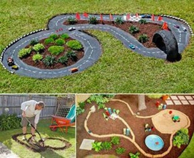 Backyard design ideas for kids 26