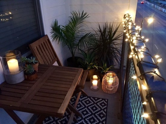 Beauty view design ideas for balcony apartment that make you cozy 06